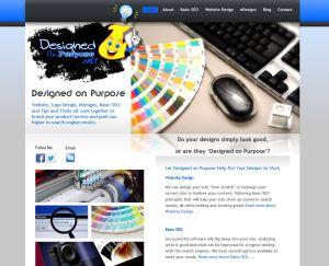 Designed on Purpose website